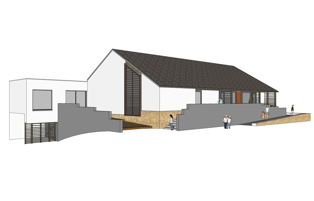 ecole maternelle sainte anne 56 sarzeau abi structure ing nieurs conseils. Black Bedroom Furniture Sets. Home Design Ideas
