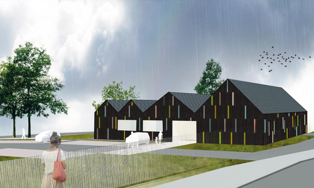 multi accueil 56 plumeliau abi structure ing nieurs conseils. Black Bedroom Furniture Sets. Home Design Ideas